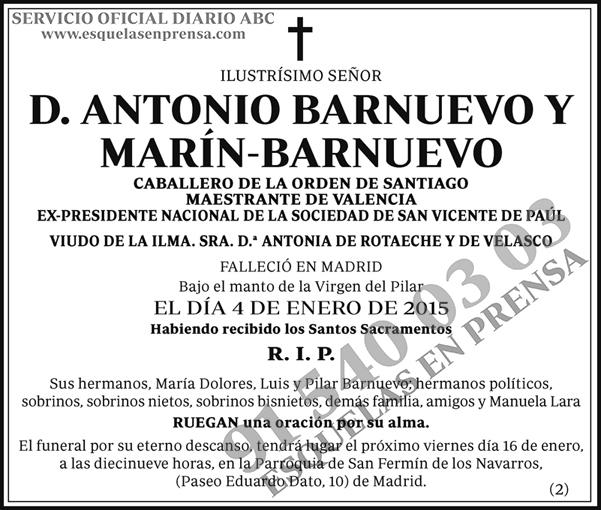 Antonio Barnuevo y Marín-Barnuevo